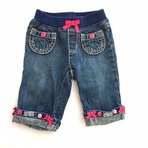 Gymboree Jeans Baby Girl's Size 6-12 Months